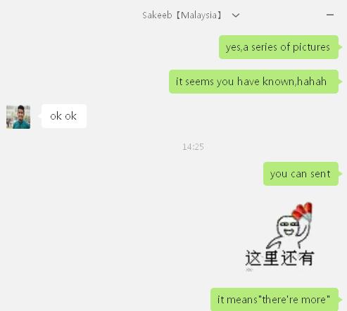 外国人在线聊天用图片动画(表情)?多呀快活表情包表情图片