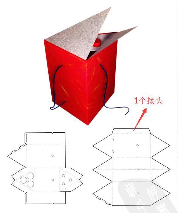 怎么叠盒子图片步骤
