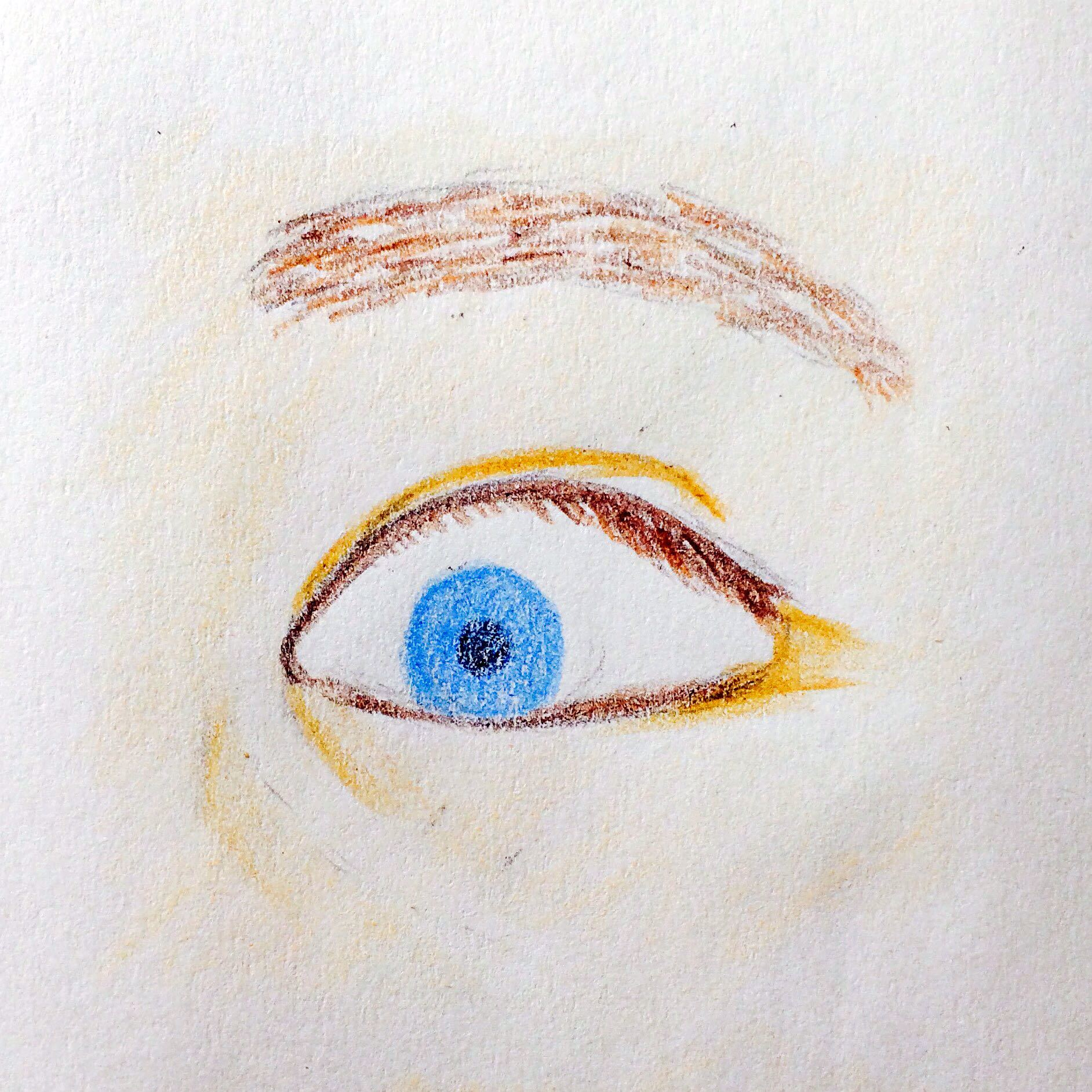 画出有神的少女?小叮当眼睛漫画a少女图片