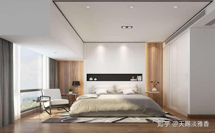 还在纠结墙纸别墅的装修设计?快来看看这些卧室别墅的卧室和窗帘一共多少钱图片