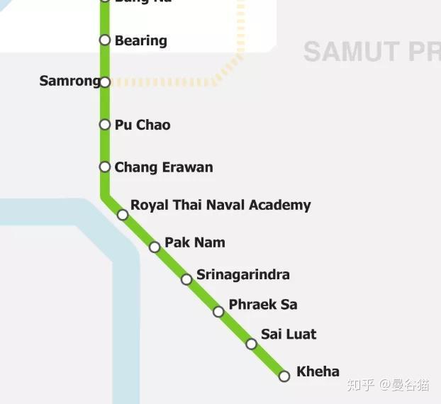 哥吐血整理】全网最新的曼谷轨道交通2019年~2029 年线路图及未来规划