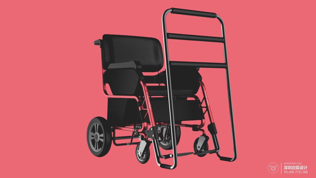 欣赏创意辅助医疗产品设计_多功能康复轮椅设计图片