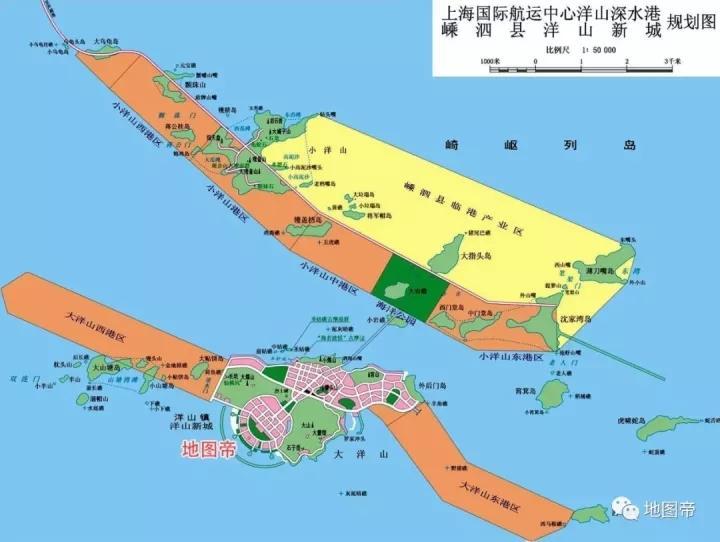 洋山港属于上海还是浙江?崇明岛会变成半岛吗?图片