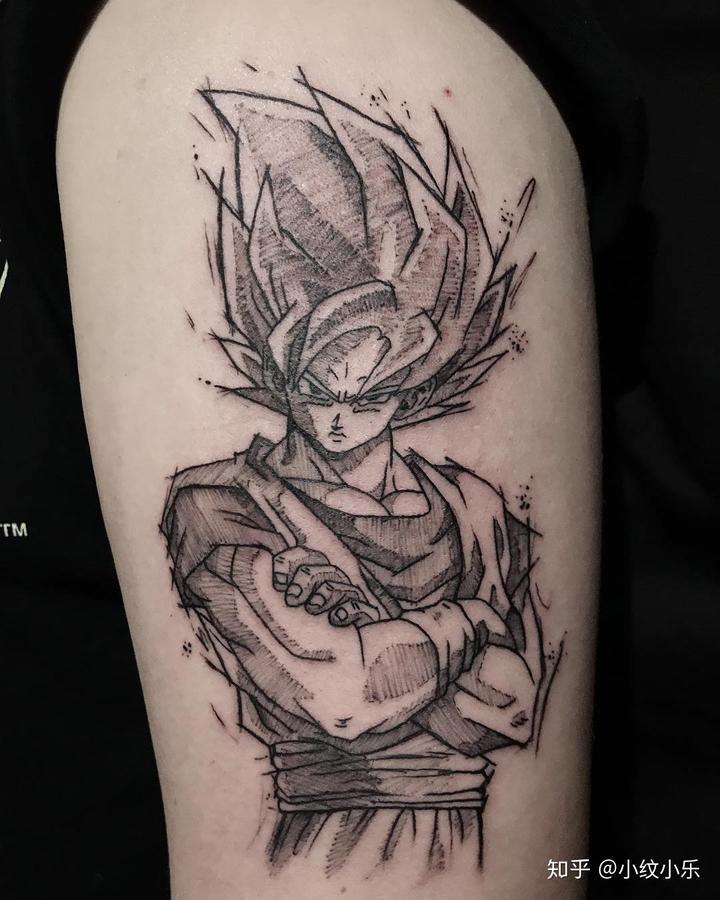 《七龙珠》的纹身一直都是会动的