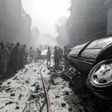 巴基斯坦坠毁客机载多名军官和企业高管