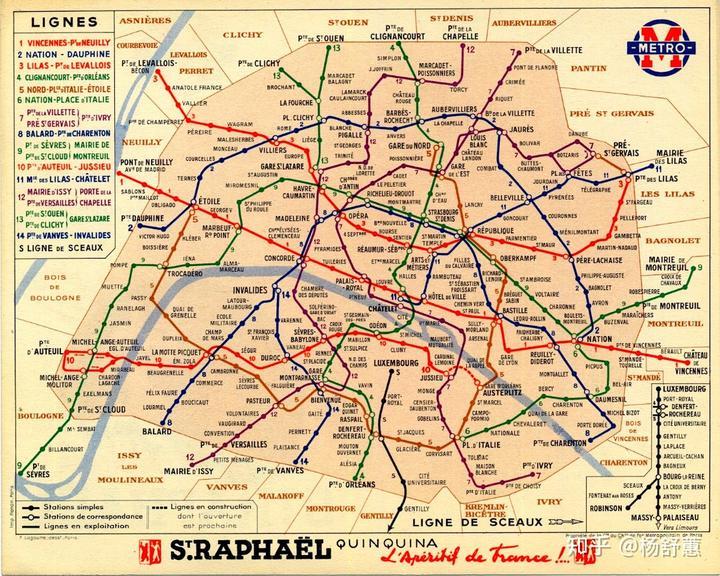 de paris)线路为一典型案例:设计师亨利·贝克(henry beck)在地铁网络图片