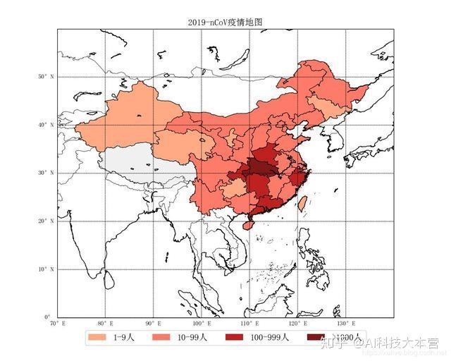 实时追踪,用python画新型肺炎疫情地图图片