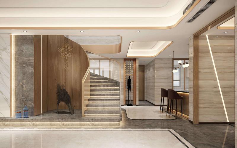 深圳复式和跃层的楼梯装修该用什么材料?常用楼梯材料