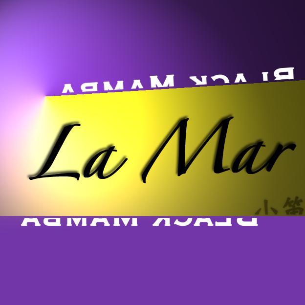 拙作《La Mar》