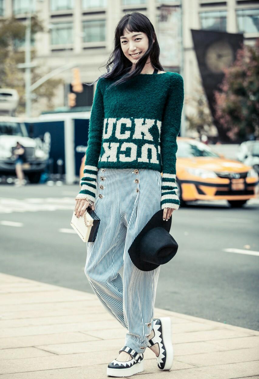 秋冬季节如何穿毛衣才好看?