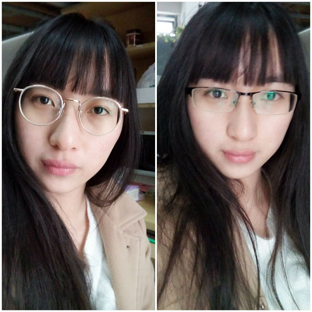 中分适合戴眼镜吗_女生,小脸、眼镜度数深,适合戴大黑框眼镜吗? - 知乎