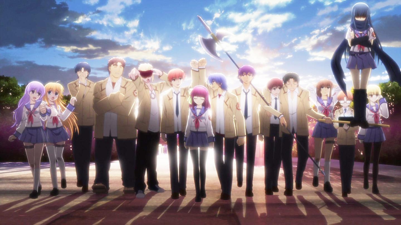 """动画考察8 Angel Beats!的再度回归性和不复存在的""""另一个世界""""——京都动画,Key,麻枝准"""
