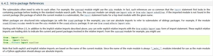 Python3 Relative Import