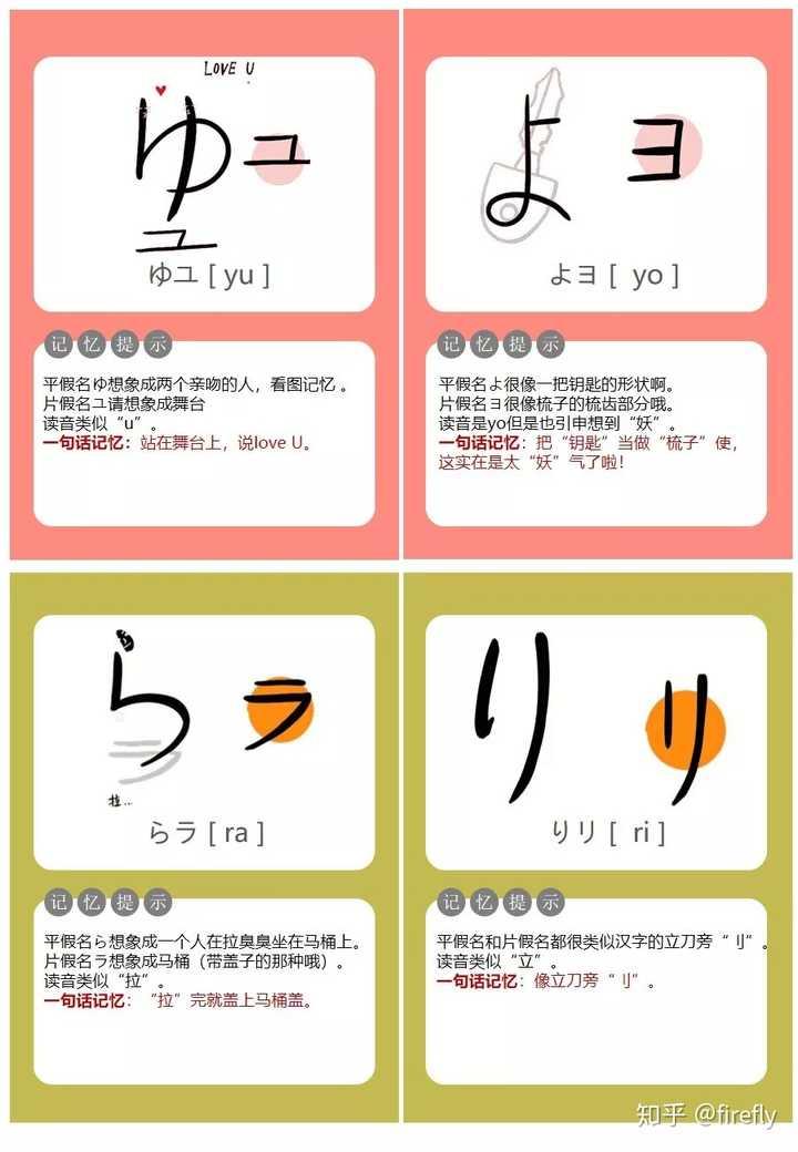 怎么记住五十音图的?详细的日语五十音图学习教程插图(23)