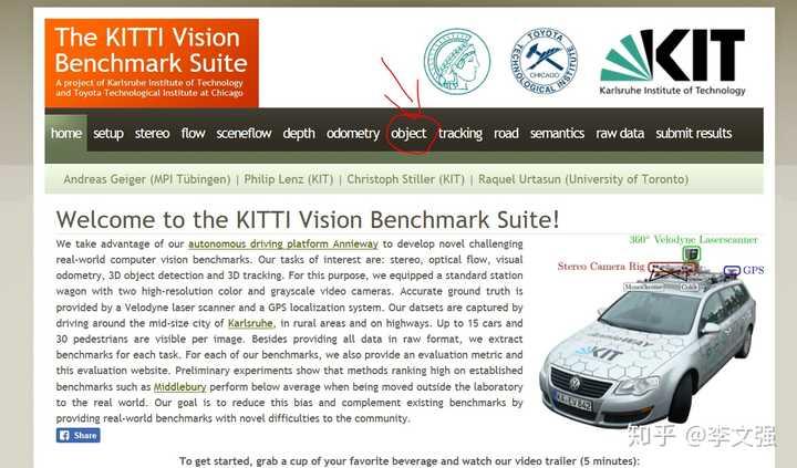 KITTI 数据集3D Object Detection 评测解读- 知乎