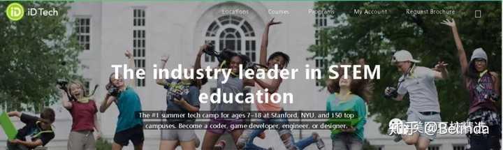 美国No 1的计算机夏令营iD Tech之---ID Tech Camps - 知乎