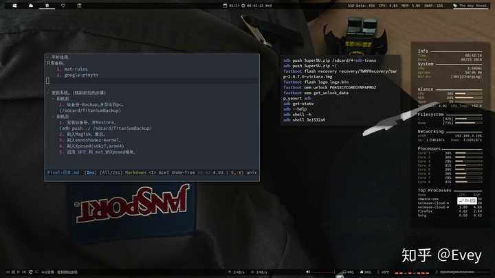 如何配置linux 平铺式窗口管理器i3wm? - 知乎