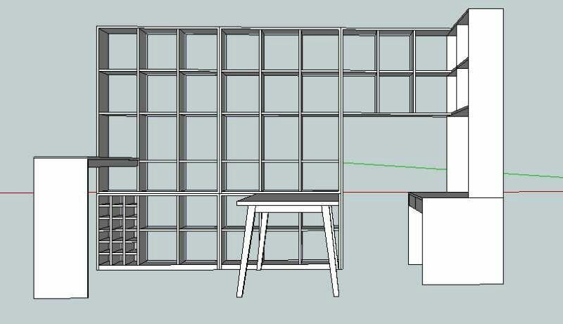 客厅不放电视柜,客厅、餐厅、书房一体,如何布局?