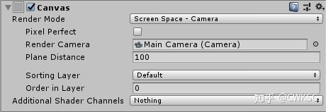 Unity 笔记- Render Mode - Screen Space - Camera 属性- 知乎