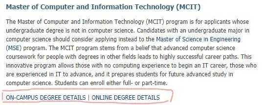 Coursera上宾夕法尼亚大学的CIT 项目怎么样? - 知乎