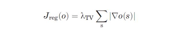 TVLoss formula