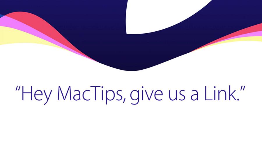 [直播渠道汇总] 2015 苹果秋季新品发布会