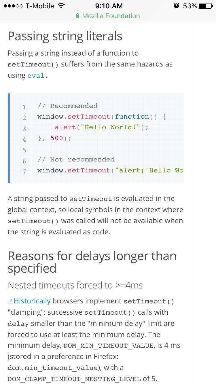 js setTimeout()函数参数中的' +argu+ '用法是语