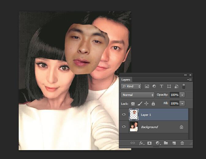 怎么看是不是4k对齐_怎么样用Photoshop把一张图片上的脸抠取五官下来到另一张图片 ...