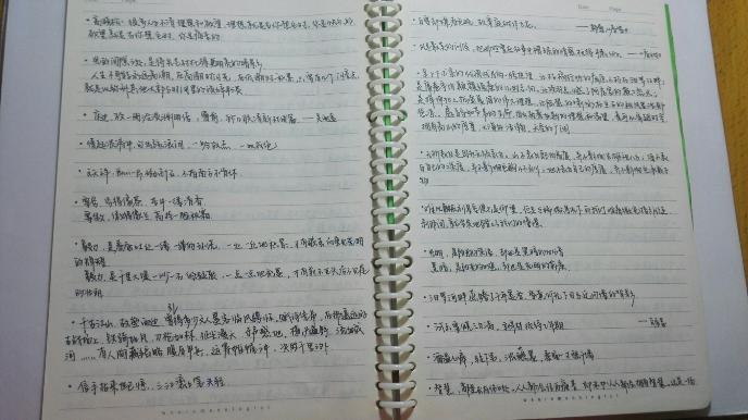 作业/高中时期简直是写字量的巅峰,所以也是改变书写的最佳时期。