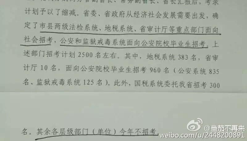 如何看待2016年辽宁省考不招地方政府公务员