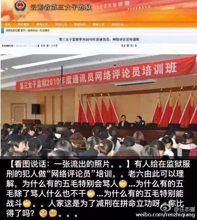 Image result for 服刑犯人做五毛