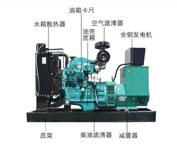 50kw康明斯柴油发电机组品牌产品设计结构效果图片