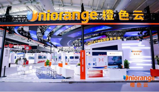 2021年服貿會首鋼園區上演科技秀,橙色云麟璣AI產品首秀爆紅