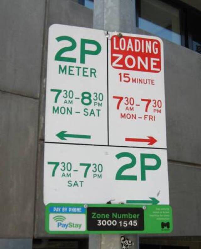 在澳洲如何停车?澳洲停车标志怎么看 5
