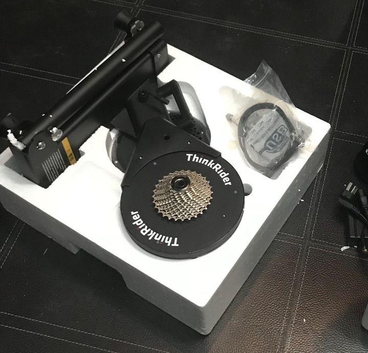 评测 篇一:训练神器―智骑X7二代重型智能骑行台开箱评测
