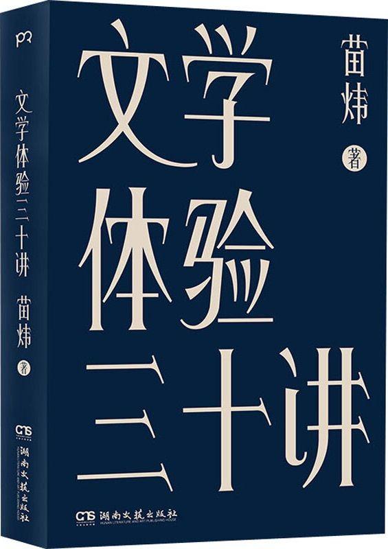 《文学体验三十讲》封面图片