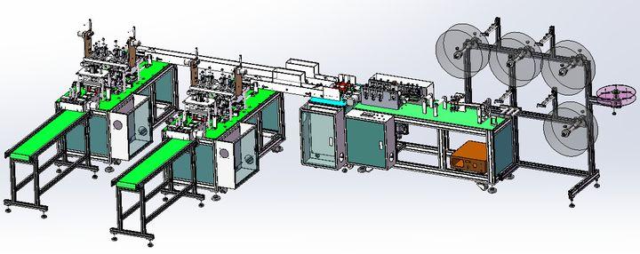 机械篇丨全面分析一拖二式全自动口罩机 - 第4张  | 酷掏村