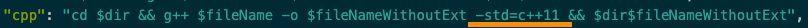 vscode c++11运行环境配置的解决方法