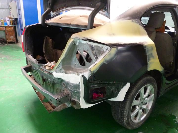 后翼子板切割一定是事故车吗?