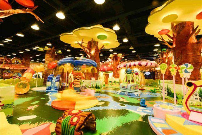 200平米的儿童乐园应该如何装修? 加盟资讯 游乐设备第2张