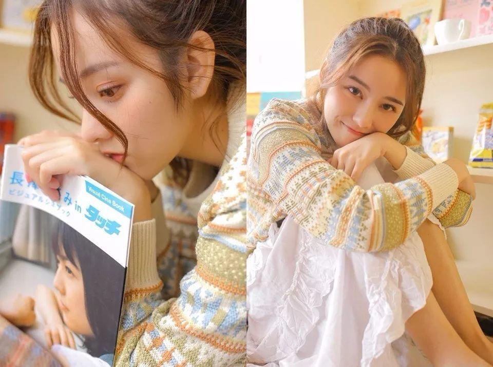 少女风格日系清新人像拍摄视频
