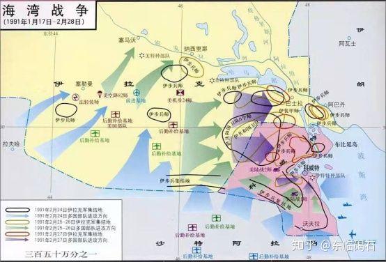 海湾战争:信息化战争的雏形- 知乎