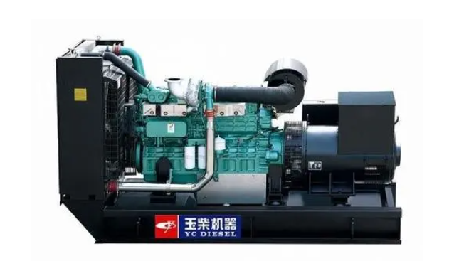 国产柴油发电机组品牌-玉柴机器发电机组民族品牌
