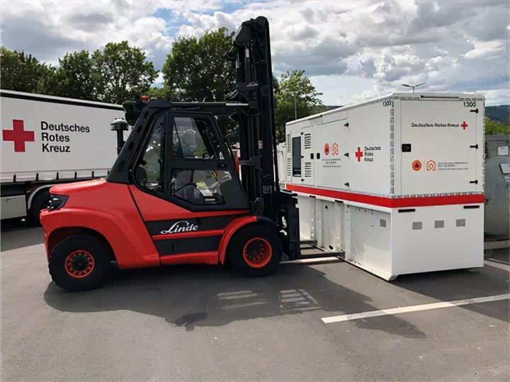 林德继续驰援德国红十字会,助力德国西部洪灾区域重建