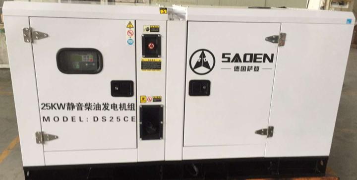 德国萨登柴油静音发电机组产品效果图片