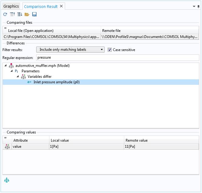 如何在 COMSOL 软件中比较两个模型文件插图10