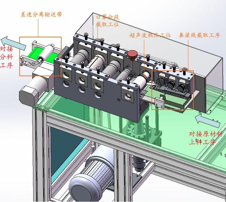 机械篇丨全面分析一拖二式全自动口罩机 - 第14张  | 酷掏村