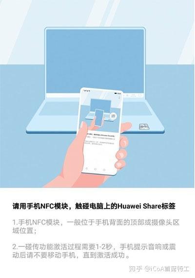 非Matebook使用华为一碰传 NFC 标签-Yoki's