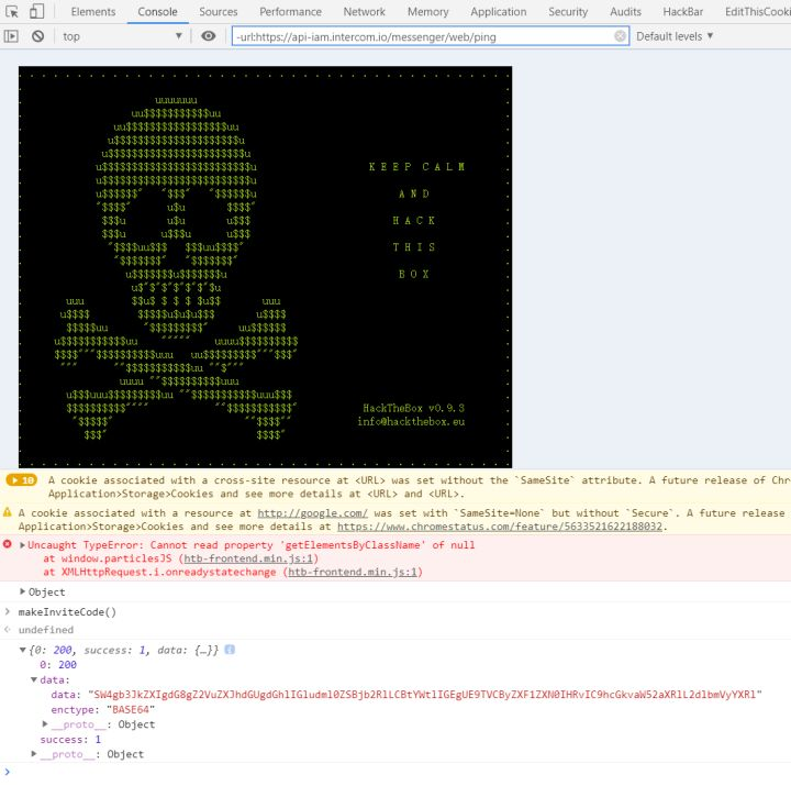 hackthebox渗透测试网站CTF练习注册获得邀请码方法插图3