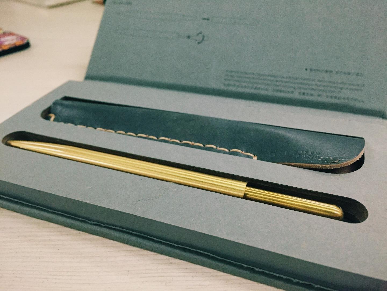 VH 情怀黄铜原子笔